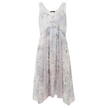 Buy Mint Velvet Emma and Holly Print Dress, Lilac / Ivory Online at johnlewis.com