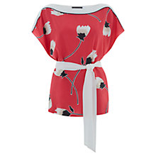 Buy Mint Velvet Lucia Print Kimono Top, Multi Online at johnlewis.com