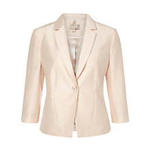 Buy Planet Seashell 3-Button Jacket, Oyster Online at johnlewis.com