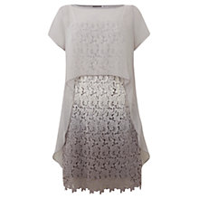 Buy Mint Velvet Platinum Ombre Dress, Grey Online at johnlewis.com