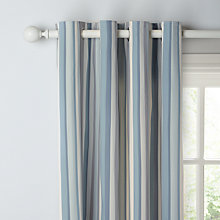 Buy John Lewis Alvar Stripe Lined Pencil Pleat Curtains Online at johnlewis.com