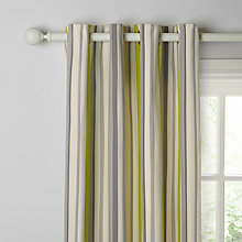 Buy John Lewis Alvar Stripe Lined Eyelet Curtains Online at johnlewis.com
