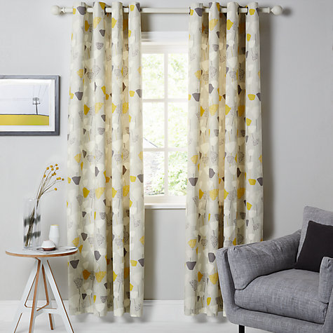 Buy john lewis elin lined eyelet curtains john lewis - Readymade wall partitions ...
