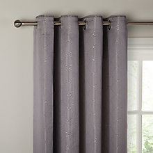 Buy John Lewis Linear Lined Eyelet Curtains Online at johnlewis.com