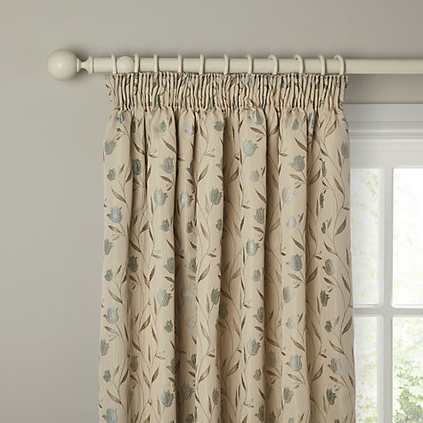 Buy John Lewis Tulips Lined Pencil Pleat Curtains John Lewis