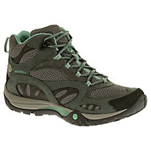 Buy Merrell Women's Azura Mid Waterproof Walking Shoes, Castle Rock/Mineral Online at johnlewis.com