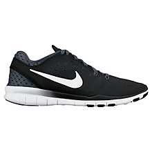 Buy Nike Free 5.0 TR Fit 5 Breathe Women's Cross Trainers, Black/White Online at johnlewis.com