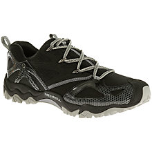 Buy Merrell Grassbow Rider Men's Walking Shoes, Black/Ice Online at johnlewis.com