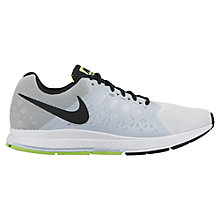 Buy Nike Air Zoom Pegasus 31 Men's Running Shoes, Grey/Black Online at johnlewis.com