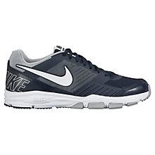 Buy Nike Air One 2 TR Men's Cross Trainers, Black/Grey Online at johnlewis.com