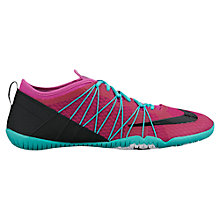 Buy Nike Cross Bionic 2 Women's Cross Trainers, Pink/Turquoise Online at johnlewis.com