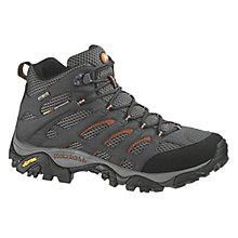 Buy Merrell Men's Moab Mid Gore-Tex Walking Shoes, Grey Online at johnlewis.com