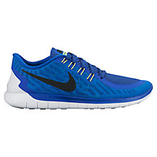 Buy Nike Free 5.0 Men's Running Shoes, Blue Online at johnlewis.com