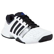 Buy Adidas Match Classic Tennis Men's Court Shoes, White/Black Online at johnlewis.com