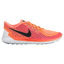 Buy Nike Free 5.0 Women's Running Shoes, Orange Online at johnlewis.com