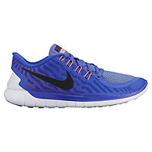 Buy Nike Free 5.0  Women's Running Shoes, Violet Online at johnlewis.com