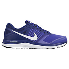Buy Nike Dual Fusion X Men's Running Shoes, Royal Blue Online at johnlewis.com