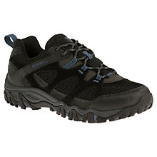 Buy Merrell Rockbit Men's Walking Shoes, Black/Tahoe Blue Online at johnlewis.com