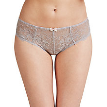 Buy COLLECTION by John Lewis Genevieve Briefs, Silver Grey Online at johnlewis.com