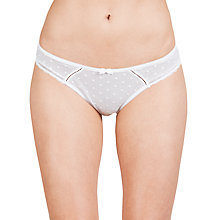 Buy COLLECTION by John Lewis Cecile Spot Mesh Briefs Online at johnlewis.com