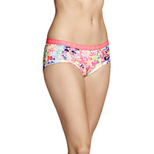Buy Bonds Hipster Boyleg Cotton Briefs, Technicolour Floral Online at johnlewis.com