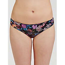 Buy COLLECTION by John Lewis Amelia Botanical Print Briefs, Multi Online at johnlewis.com