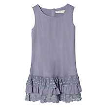 Buy Mango Kids Lace Ruffle Dress Online at johnlewis.com
