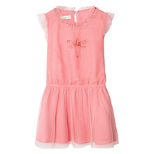 Buy Mango Kids Girls' Tulle Beads Dress Online at johnlewis.com