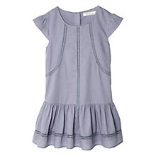 Buy Mango Kids Lace Trim Drop Waist Dress Online at johnlewis.com