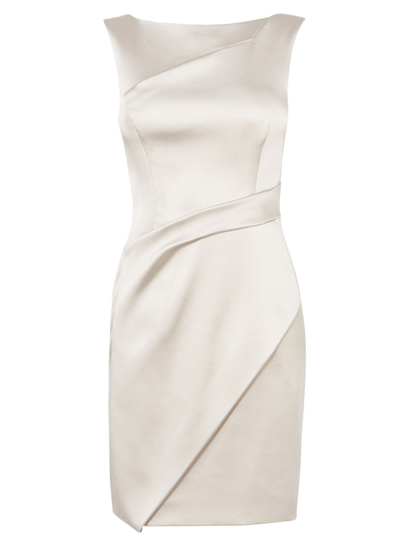 karen millen draped satin mini dress neutral, karen, millen, draped, satin, mini, dress, neutral, karen millen, 8|12|6|16|10|14, women, womens dresses, new in clothing, 1931362