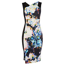 Buy Karen Millen Blured Photographic Print Dress, Multi Online at johnlewis.com