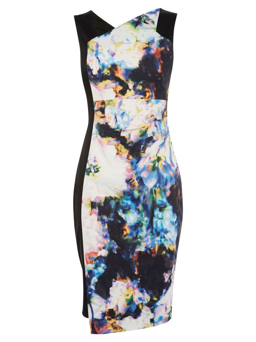 karen millen blured photographic print dress multi, karen, millen, blured, photographic, print, dress, multi, karen millen, 6|16|8|12|10|14, women, womens dresses, new in clothing, 1931359