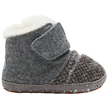 Buy TOMS Cuna Crib Boots, Grey Online at johnlewis.com