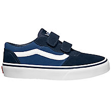 Buy Vans Milton V Suede Shoes, Navy Online at johnlewis.com