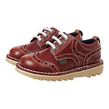 Buy Kickers Brogman Leather Shoes Online at johnlewis.com