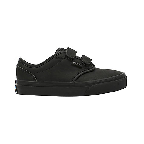 buy vans atwood leather school shoes black lewis