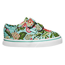 Buy Vans Atwood Tapestry Canvas Rip-Tape Trainers, Blue/Multi Online at johnlewis.com