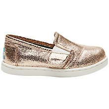 Buy Toms Avalon Children's Slip On Trainers Online at johnlewis.com