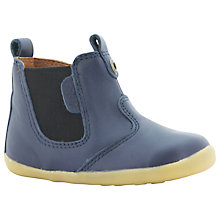 Buy Bobux Jodphur Leather Chelsea Boots, Blue Online at johnlewis.com