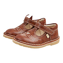 Buy Kickers Adlar Kit T-Bar Shoes, Tan Online at johnlewis.com