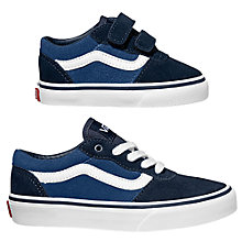 Buy Vans Milton Suede Trainers, Navy Online at johnlewis.com