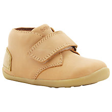 Buy Bobux Odyssey Leather Shoes, Cream Online at johnlewis.com