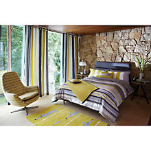 Buy Scion Lace Stripe Duvet Cover and Pillowcase Set Online at johnlewis.com