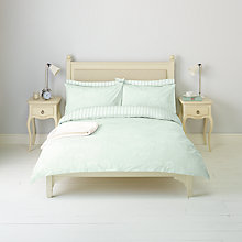 Buy John Lewis Cow Parsley Duvet Cover and Pillowcase Set, Pale Duck Egg Online at johnlewis.com