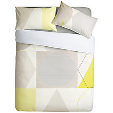 Buy House by John Lewis Geo Duvet Cover and Pillowcase Set Online at johnlewis.com