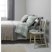 Buy John Lewis Brushed Cotton Herringbone Duvet Set Online at johnlewis.com