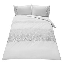Buy John Lewis Elea Silver Bedding Online at johnlewis.com