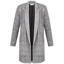 Buy Miss Selfridge Mono Duster Jacket, Black/Multi Online at johnlewis.com
