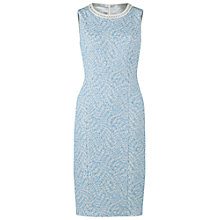 Buy Gina Bacconi Jacquard Dress, Blue Online at johnlewis.com