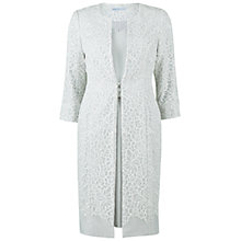 Buy Gina Bacconi Embellished Dress With Coat, Silver Mist Online at johnlewis.com